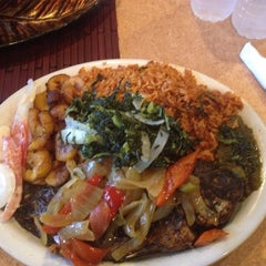 Photo taken at Trinity African Bar & Grill by Nkechinyere( Mary ) U. on 8/18/2014