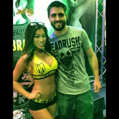 Photo taken at UFC Fan Expo by instagram: @OfficialJadaCheng on 7/8/2013