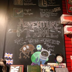 Photo taken at Newbury Comics by Julianne K. on 2/22/2013