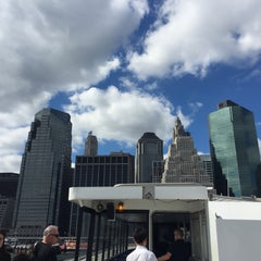 Photo taken at East River Ferry - Wall St/Pier 11 Terminal by Michelle on 9/11/2015