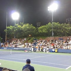Photo taken at Court 13 - USTA Billie Jean King National Tennis Center by Михаил А. on 8/28/2014