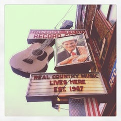 Photo taken at Ernest Tubb Record Shop by Megan M. on 10/1/2012