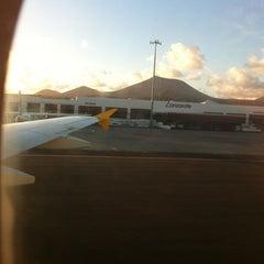 Photo taken at Terminal 2 Aeropuerto de Lanzarote (ACE) by Maria M. on 10/17/2012