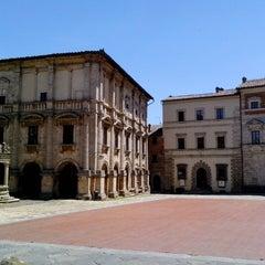 Photo taken at Piazza Grande by Elisa B. on 6/21/2015