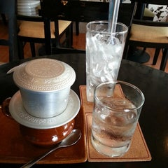 Photo taken at Trung Nguyen Coffee by Gilbert C. on 6/23/2013
