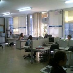Photo taken at AGECOM - Agência Goiana de Comunicação by Vinícius M. on 10/19/2012