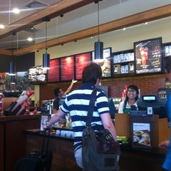 Photo taken at Starbucks by Lena K. on 1/1/2013