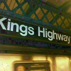 Photo taken at MTA Subway - Kings Highway (B/Q) by **Heath** on 3/11/2013