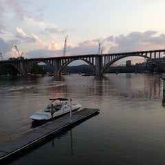 Photo taken at Calhoun's on the River by D C. on 7/25/2013