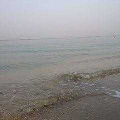 Photo taken at หาดบางแสน (Bang Saen Beach) by Chompoo S. on 3/7/2013