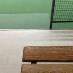 Photo taken at Kronprinsens Tennishall & Tenniscenter by Mike C. on 2/2/2013