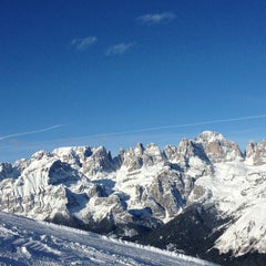 Photo taken at Consorzio Skipass  Paganella by Mattia F. on 1/24/2013