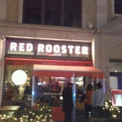 Photo taken at Red Rooster by Marcus on 11/1/2012
