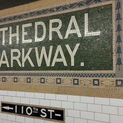 Photo taken at MTA Subway - Cathedral Pkwy/110th St (1) by Marcus on 2/1/2014
