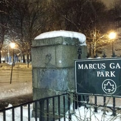Photo taken at Marcus Garvey Park by Marcus on 2/5/2014