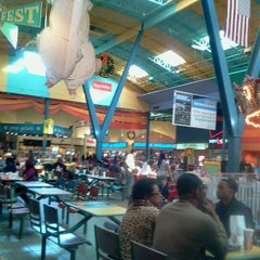 Photo taken at Concord Mills Food Court by Debbie C. on 11/23/2012