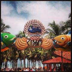 Foto tirada no(a) Beach Park por Bruno D. em 1/15/2013