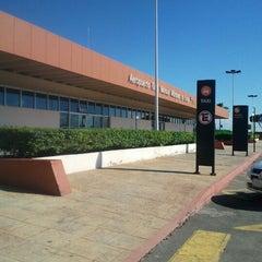 Photo taken at Aeropuerto Manuel Márquez de León (LAP) by Jesus R. L. on 9/30/2012
