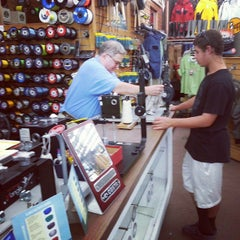 Photo taken at Tochterman's Fishing Tackle by Annie W. on 7/22/2014