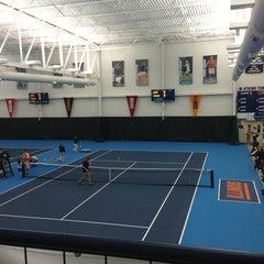 Photo taken at Atkins Tennis Center by Joe on 1/26/2013