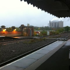 Photo taken at Bury St Edmunds Railway Station (BSE) by Sam H. on 10/21/2012