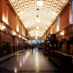Photo taken at Adelaide Railway Station by Nick Y. on 10/30/2012