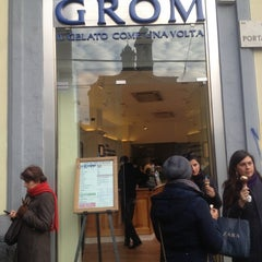 Photo taken at Grom by Rebecca A. on 11/19/2012