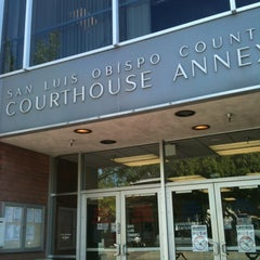 Photo taken at San Luis Obispo Court House by Tori S. on 11/2/2012
