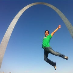 Photo taken at Gateway Arch by aaron c. on 5/11/2013