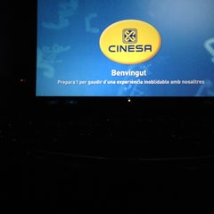 Photo taken at Cinesa Maremagnum by JuanCky S. on 11/1/2012