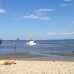 Photo taken at West Beach Park by Andrea S. on 9/7/2014