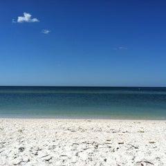Photo taken at Bonita Beach by Briana M. on 10/22/2012