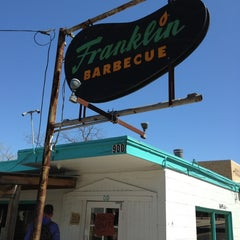 Photo taken at Franklin Barbecue by Marko T. on 3/12/2013