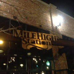Photo taken at Mile High Station by Matthew I. on 10/24/2012