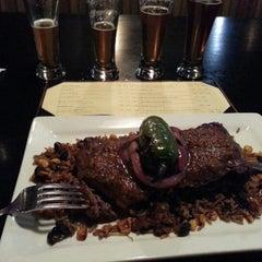 Photo taken at Destihl Restaurant & Brew Works by Brad B. on 1/3/2013