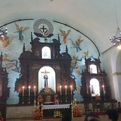 Photo taken at Santuario de San Pedro Bautista Parish by Guen M. on 8/1/2014