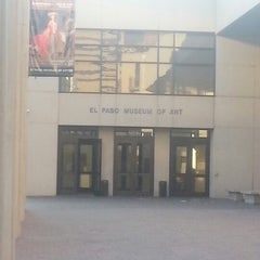 Photo taken at El Paso Museum of Art by Alex! on 11/29/2012
