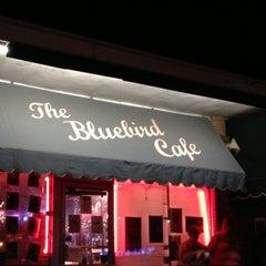 Photo taken at Bluebird Cafe by Mindy B. on 4/14/2013