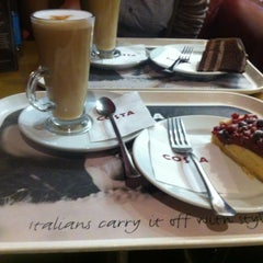 Photo taken at Costa Coffee by Krisztina B. on 3/21/2013