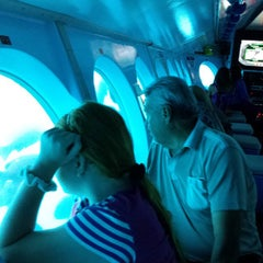 Photo taken at Catalina Semi-submersible Undersea Tour by Angel M. on 9/21/2014