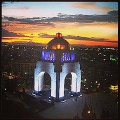 Photo taken at Monumento a la Revolución Mexicana by Daniel  G. on 6/3/2013