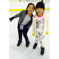 Photo taken at Kallang Ice World by Trina A. on 3/17/2015