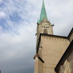 Photo taken at Münsterhof by Kumru A. on 6/15/2013
