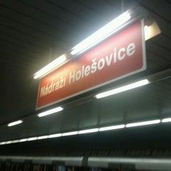 Photo taken at Metro =C= Nádraží Holešovice by Ven D. on 11/10/2012