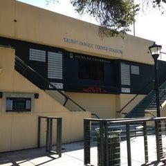 Photo taken at Taube Family Tennis Stadium by Hasani H. on 2/21/2013