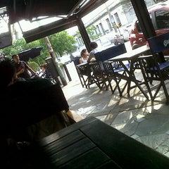 Photo taken at Pablos Restorán Bar by Gus B. on 10/27/2012
