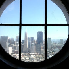 Photo taken at Coit Tower by Skresh B. on 5/25/2013