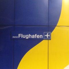 Photo taken at ZVV Zürich Flughafen by Alexander C. on 4/23/2013