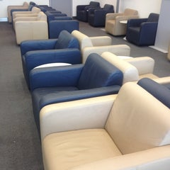 Photo taken at Lufthansa Business Lounge by Sascha G. on 5/9/2013