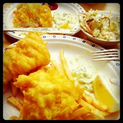 Photo taken at Deep Cove Fish & Chips by Freddie D. on 8/21/2011